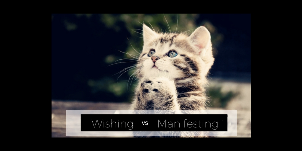 Wishing vs Manifesting