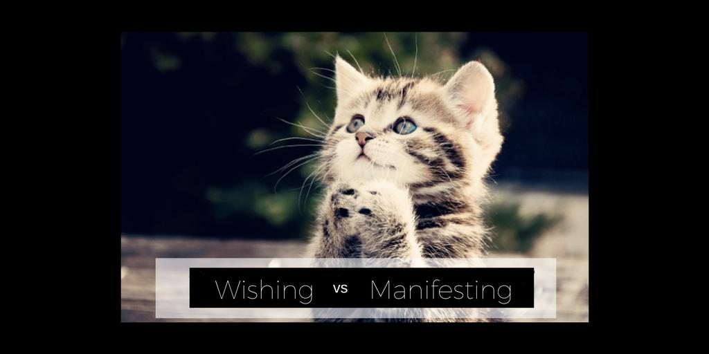 Wishing vs Manifesting