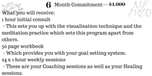 6 month life coaching package