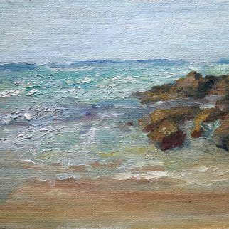 "Asilomar, California, en plein air, 8""x10"""