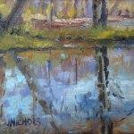 Jill Nichols oil painting