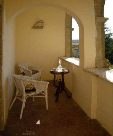 Balcony, Villa, Farnese, Italy