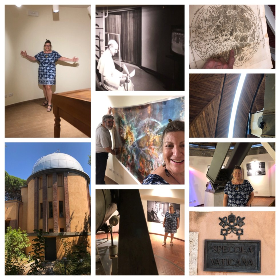 Jill visits the Vatican Observatory