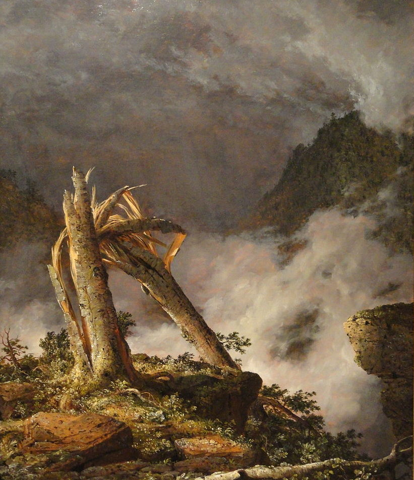 Storm in the Mountains, 1847, Frederic Church