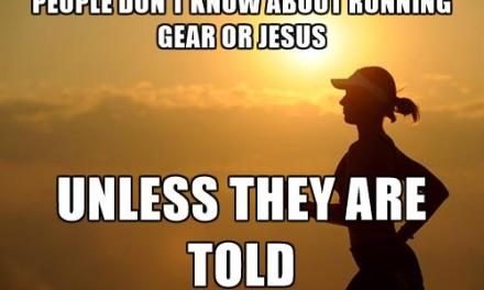 Running Gear and Jesus