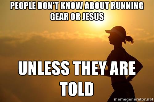 Running Gear and Jesus