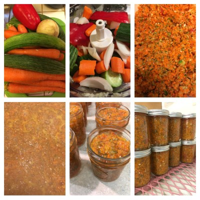 Carrot and Cucumber Relish