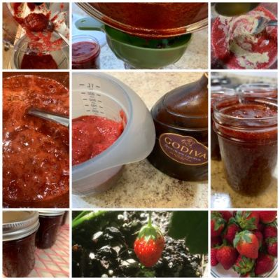 Strawberry Chocolate Jam