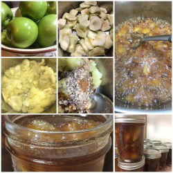 Toffee Apple Jam with Bourbon