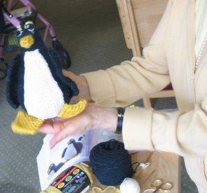 Penguin from the Timeless Toys KAL