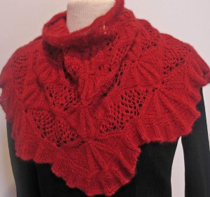 Remarkables Shawlette in Air from Zealana