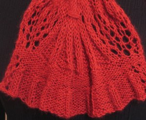 Remarkables Skirt: Single Repeat for Scarf