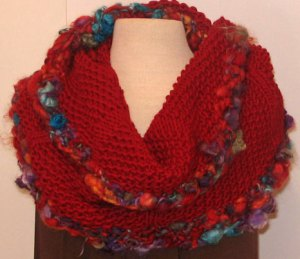 Devil's Tower Cowl: Winter Knitting Progress