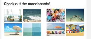 Sheepspot Yarn Club: July mood boards