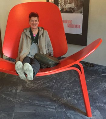 Jill's 2015 Travel Diary: The Big Chair, Copenhagen