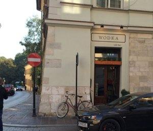 to Krakow The Wodka Bar