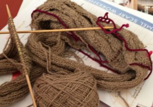 Visual Clutter or Taming Your Knitting