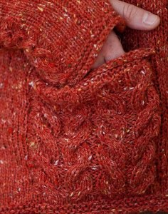Finishing: Obstacles in Knitting, Meath Pullover Pocket