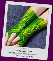 Osswald Design: Comet mittens