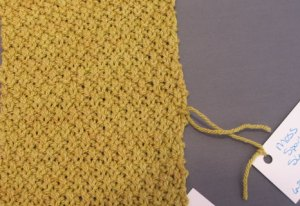 Seed Clarification: Moss stitch