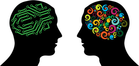 Knitting Brain vs. Computer Brain