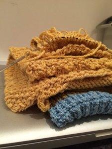 Fabric: Texture and stitch pattern