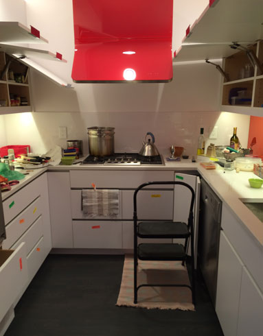 Unpacking a Life: the kitchen