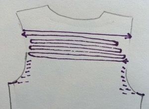 Chest Adjustments: Back short rows on upper back