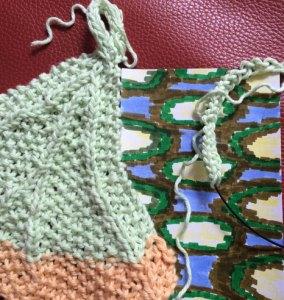 Improvisation: Art & knitting