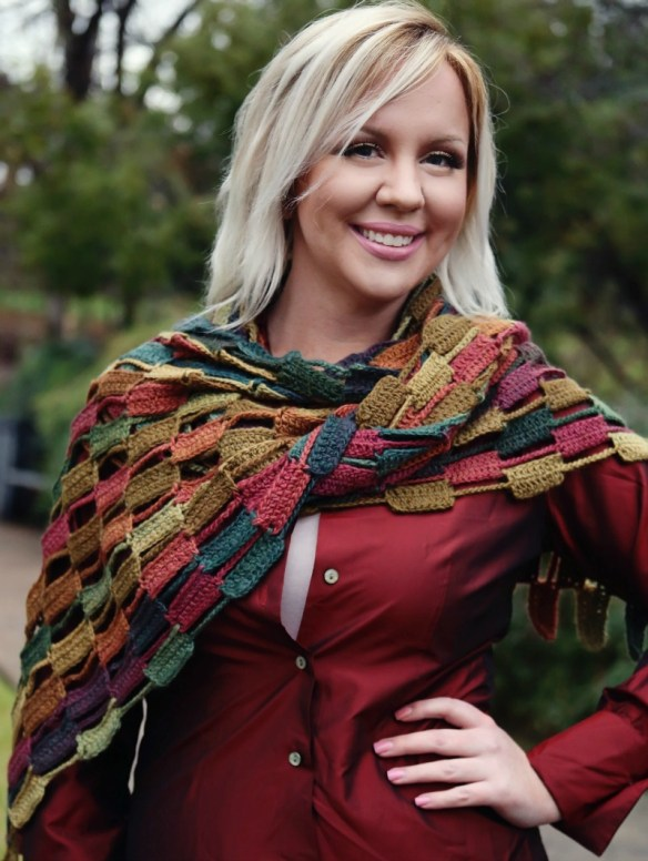 Angelia Smith Robinson: Cobblestone Wrap