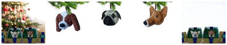Krista Benskin: Dog Ornaments