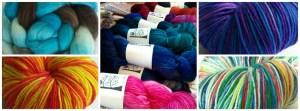 Jennie Powell: an array of yarn and fiber