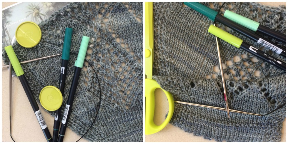Swatch Workshop: blocked and unblocked medallion