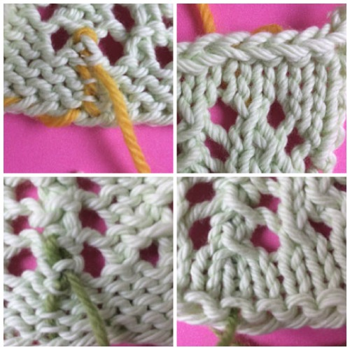 Ends in cast on and bind off