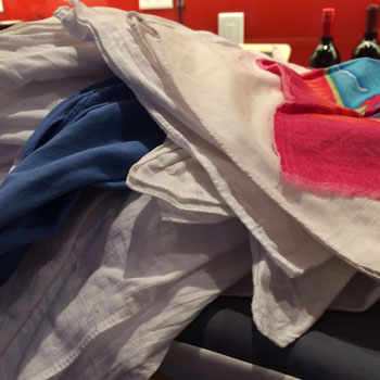 Future Self: Don't love ironing them, but I love using Ironed hankies