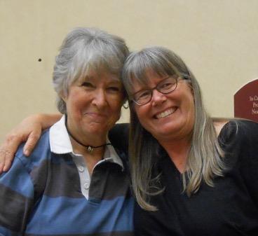 Meg Swansen and Janine Bajus