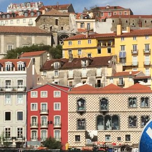 Spring 2017 Travel: Lisbon buildings being or having been rehabbed