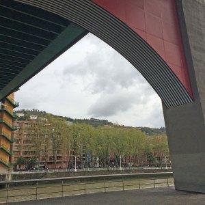 Spring 2017 Travel: Fancy Bridge in Bilbao
