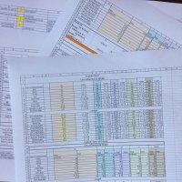 Grading All Segments: Spreadsheets