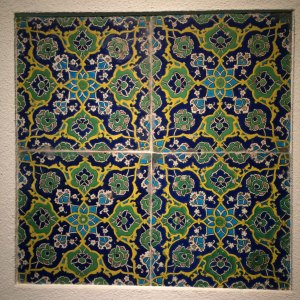 Spring 2017 Travel: Tiles at the museum