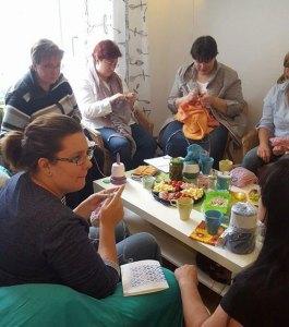 Tanja Osswald Knitting Group