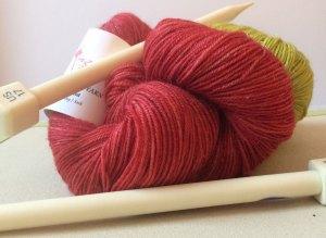 Knit Nebula: Two colors