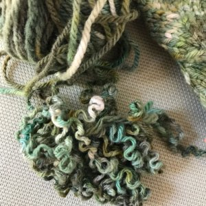 Row Gauge: Yarn needing blocking