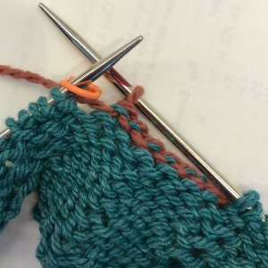 Bind off Within Row: 3) work BO to removable marker