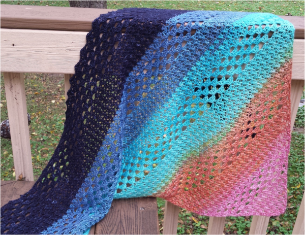 A Simple Homestead Heaven and Earth Shawl