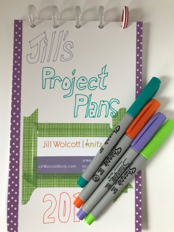 Project Planners: A special Notebook for 2018 Project Plans