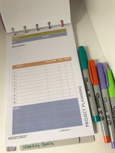 Project Planning Sheet