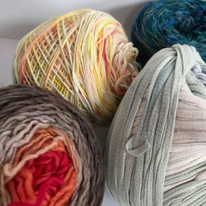 Yarn and Color: Variation in the length of color makes a huge difference