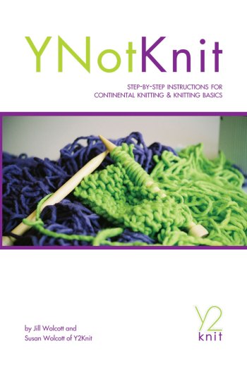 YNotKnit front cover