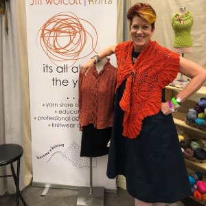 Welcome Back. Jill in the Elemental Affects Booth at TNNA